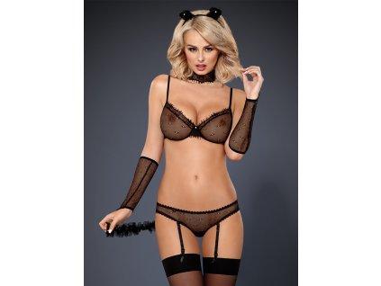 # Sexy kostým 836 - CST - Obsessive (Barva Černá, Velikost L/XL)