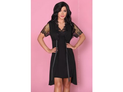 # Krásný komplet Zorda - LivCo Corsetti (Barva Černá, Velikost L/XL)