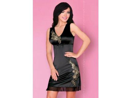 # Okouzlující košilka Matleena - LivCo Corsetti (Barva Černá, Velikost L/XL)