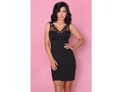 # Luxusní košilka Salma - LivCo Corsetti (Barva Černá, Velikost L/XL)