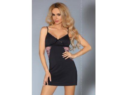 # Neobyčejná košilka Grace - LivCo Corsetti (Barva Černá, Velikost L/XL)