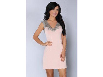 # Smyslná košilka Caelie - LivCo Corsetti (Barva meruňková, Velikost L/XL)