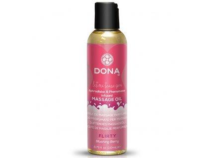dona masazni olej flirty slibatelny masazni olej s vuni blushing berry img E26837 fd 3