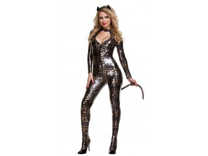 Leopard woman 01