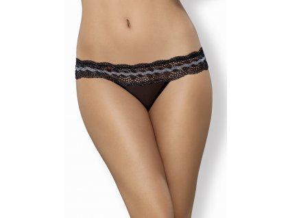 # Krásná tanga 869 - THO - Obsessive (Barva Černá, Velikost L/XL)