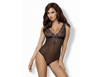 # Elegantní body 869 - TED - Obsessive (Barva Černá, Velikost L/XL)