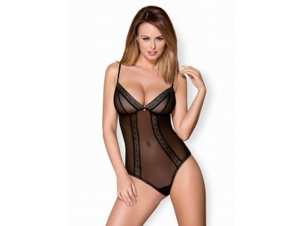 # Romantické body 862 - TED - Obsessive (Barva Černá, Velikost L/XL)