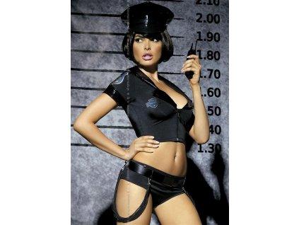 52619 sexy kostym police set obsessive
