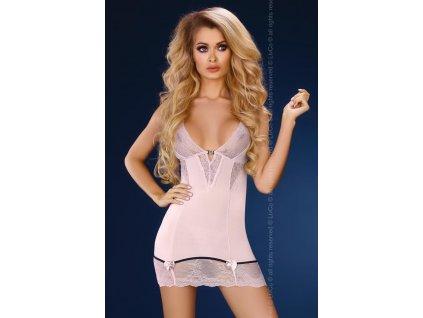 # Košilka Stephanie - LivCo Corsetti (Barva růžová, Velikost L/XL)