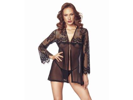 # Elegantní košilka Jolie - Anais (Barva Černá, Velikost XXL/XXXL)