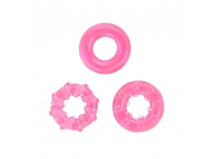 basic x erekcni krouzky nevibracni 3 ks ruzove img BSC00197pnk fd 3