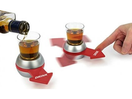 spin the shot glass drinking game spinner