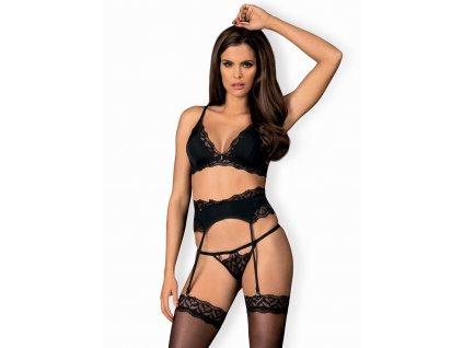 # Smyslný set Arisha set with garter belt - Obsessive