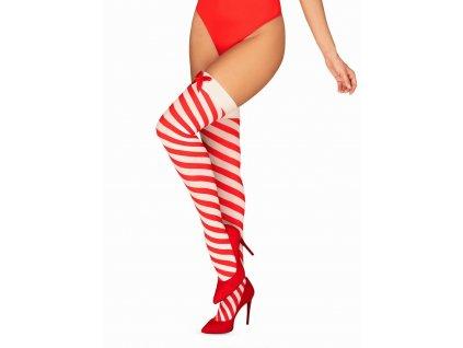 # Vánoční punčochy Kissmas stockings - Obsessive