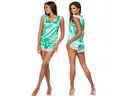 # Dámské saténové pyžamo K-913 - Excellent Beauty