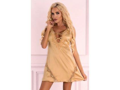 # Zlatá košilka Landim gold - LivCo Corsetti