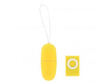 basic x fabio vibracni vajicko na dalkove ovladani zlute img BSC00208 yellow fd 3