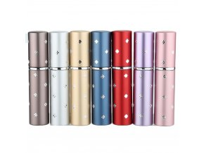 diamond drill 6ml perfume bottle pump pocket