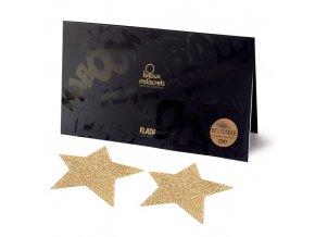 bijoux indiscrets ozdoby na bradavky hvezdy zlate img E24400 fd 3