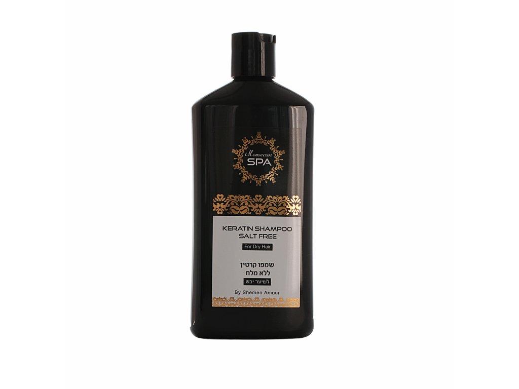 shampoo keratin dry hair