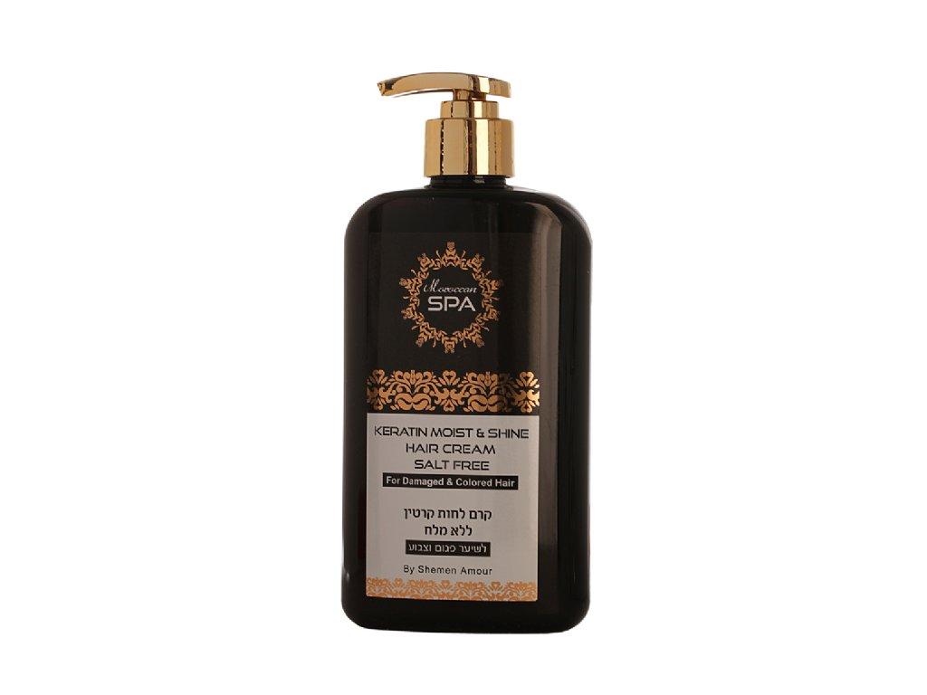 Maroccan Spa hydratačný keratínový styling krém s argánovým olejom 400ml