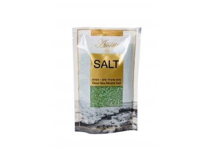 Shemen Amour DEAD SEA MINERAL SALT Minerálna soľ do kúpeľa z Mŕtveho mora - jablko 300g
