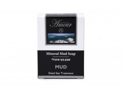 Shemen Amour MINERAL MUD SOAP Ošetrujúce minerálne mydlo na tvár a telo z bahna z Mrtvého mora 125g