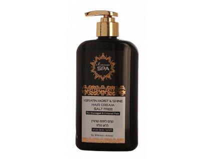 Keratínový krém s argánovým olejom na suché vlasy Maroccan Spa