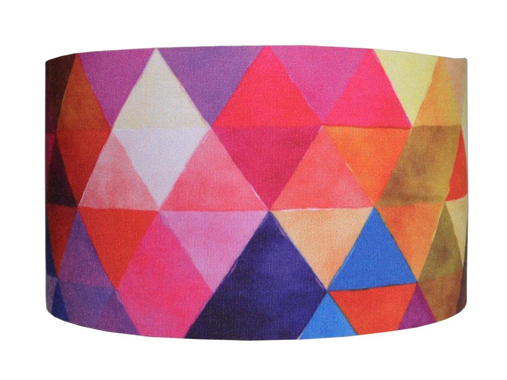 funkční čelenka trojuhelníky mix