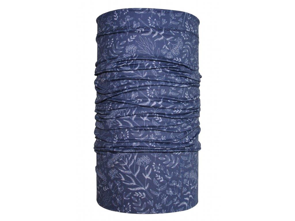 běžecký nákrčník anywhere modrá