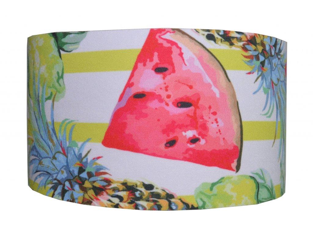 funkční čelenka anywhere letní ovoce