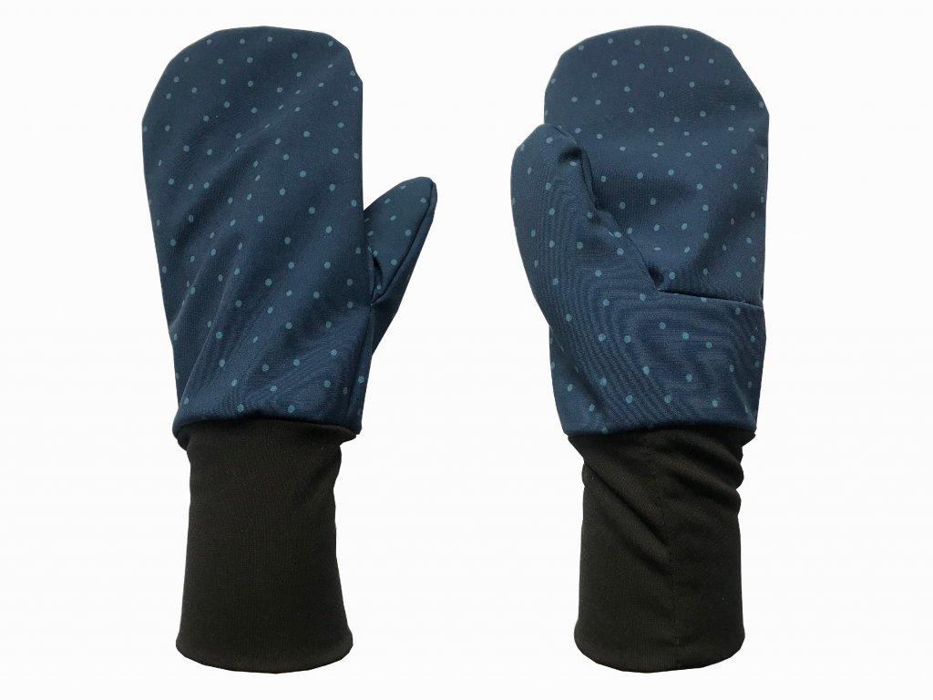 rukavice anywhere tečky