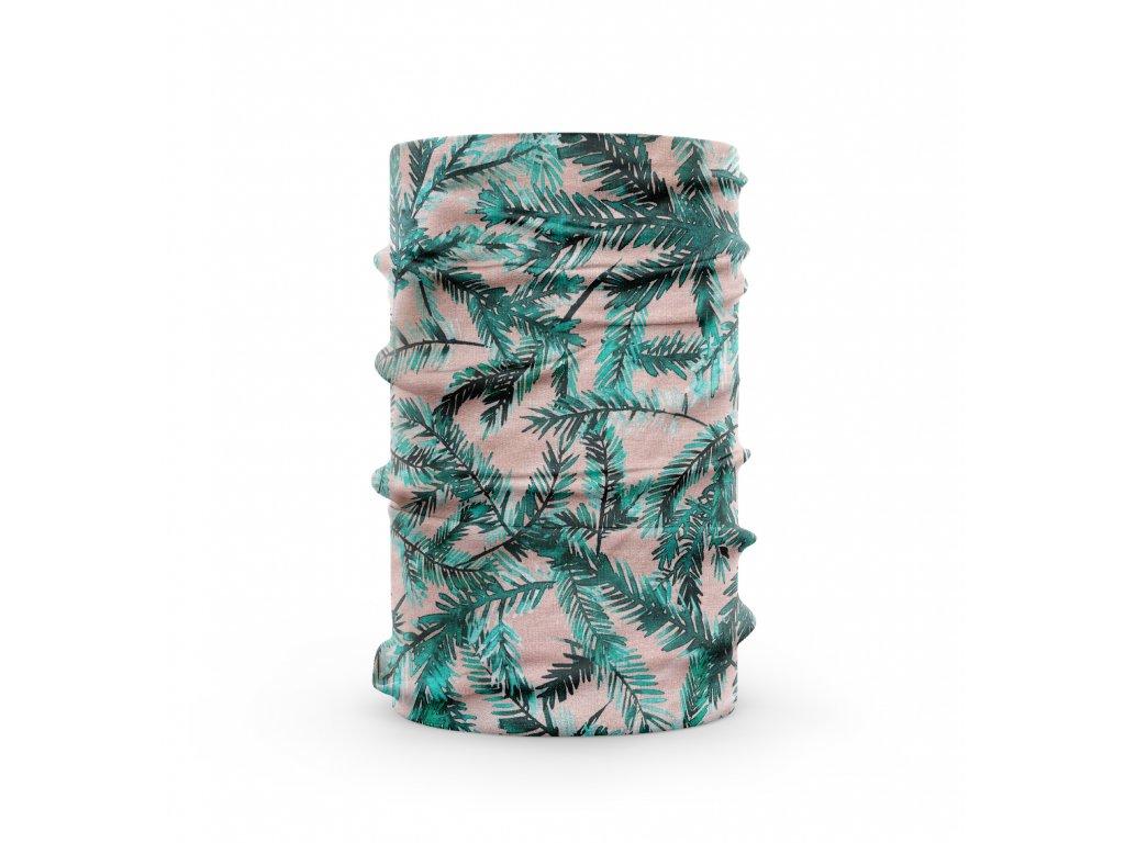 bavlněný nákrčník anywhere větvičky