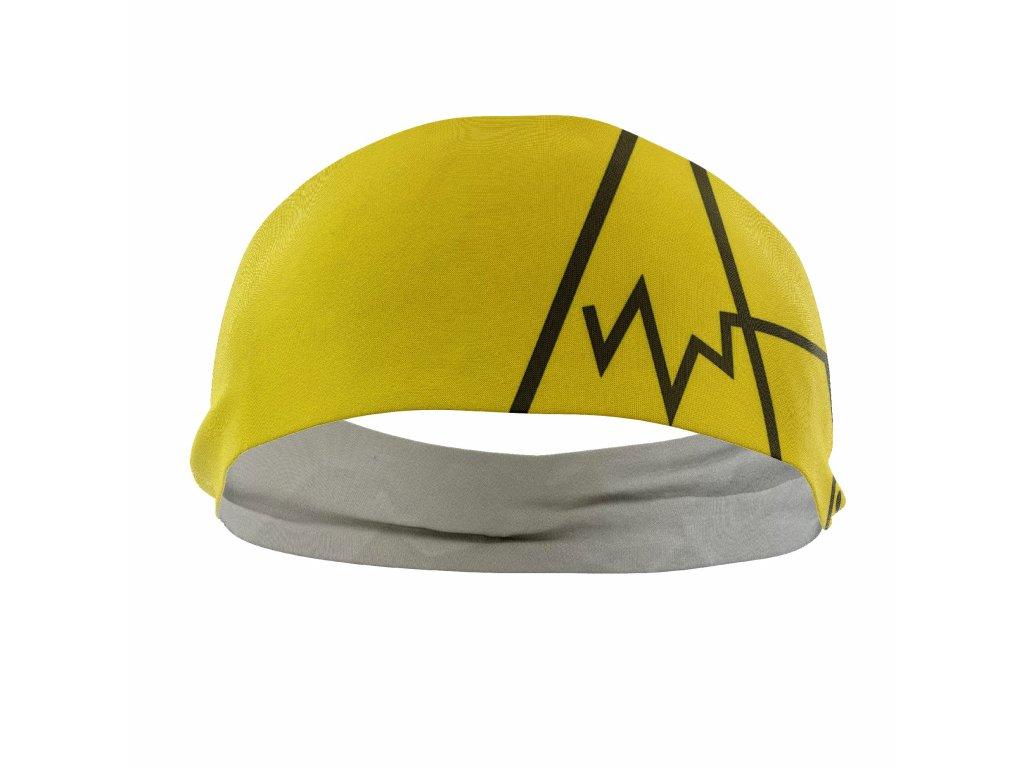 jednovrstvá čelenka anywhere žlutá