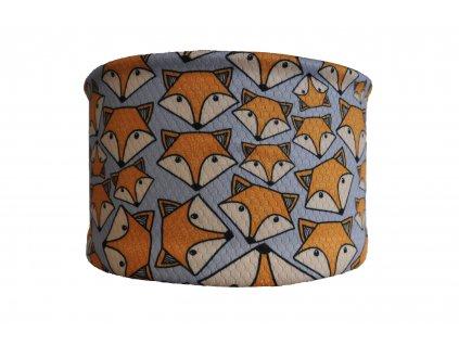 čelenka lišky šedá