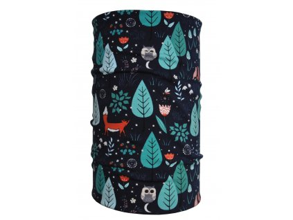 nákrčník anywhere lišky v lese mint