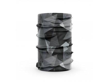 bavlněný nákrčník anywhere geo černá