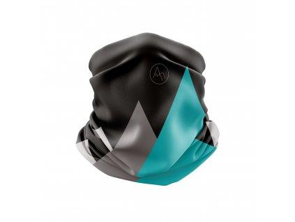 běžecký nákrčník anywhere černá