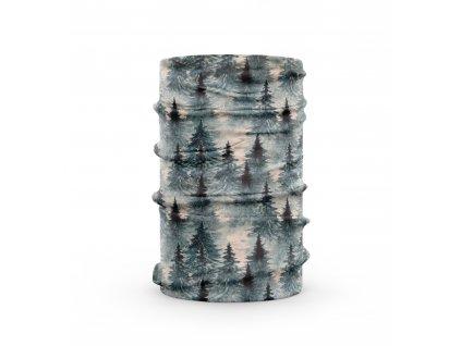 bavlněný nákrčník anywhere les šedý