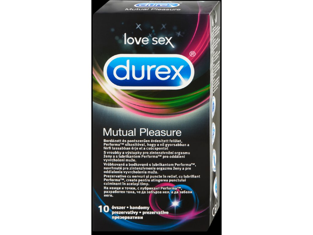 durex mutual pleasure 10 ks