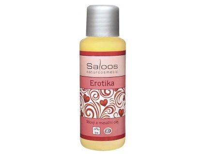 saloos erotika bio telovy a masazni olej 50 ml