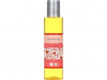 Saloos Erotika BIO tělový a masážní olej 125 ml