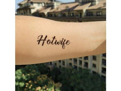 Dočasné tetování Hotwife