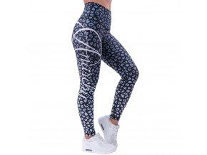 anarchy apparel leggings leopardess schwarz weiss