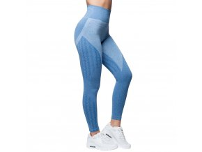 anarchy apparel seamless leggings wabisabi blau