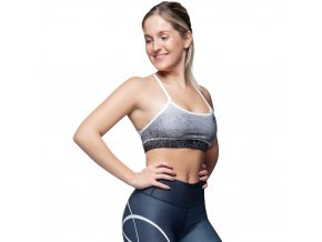 anarchy apparel yoga bra stripes mf
