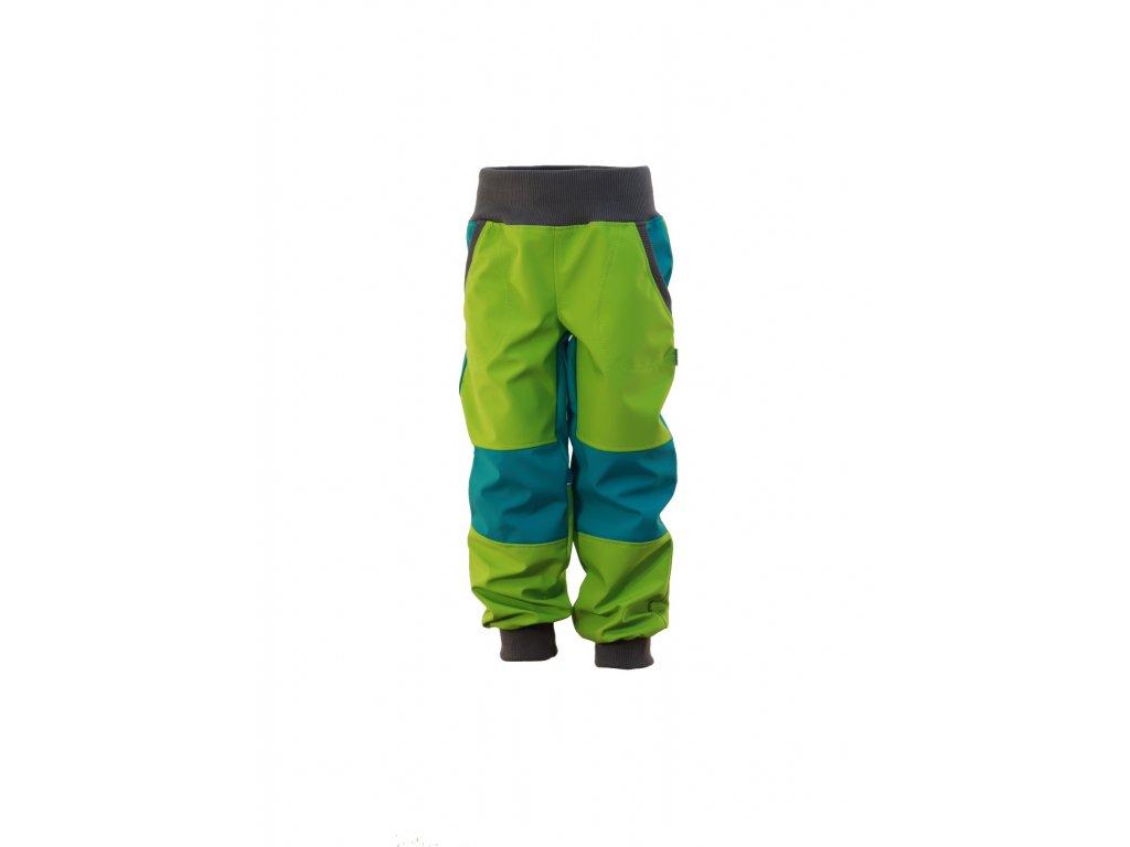 Dětské softschellové kalhoty bez fleece