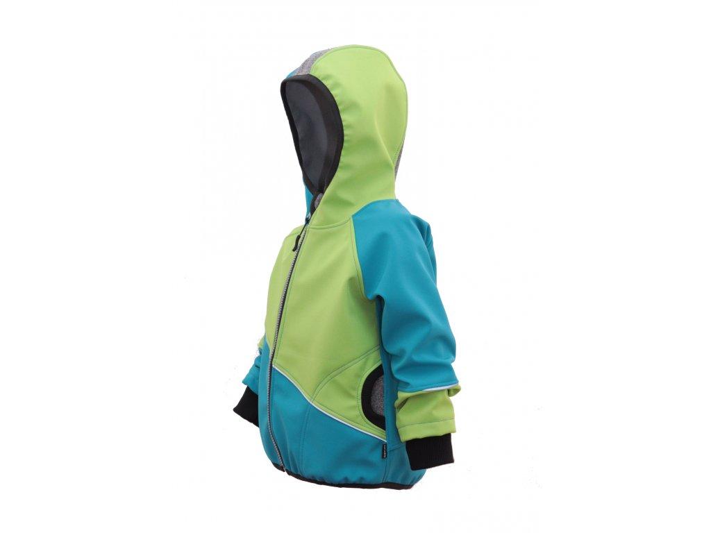 Softshellová bunda s fleecem
