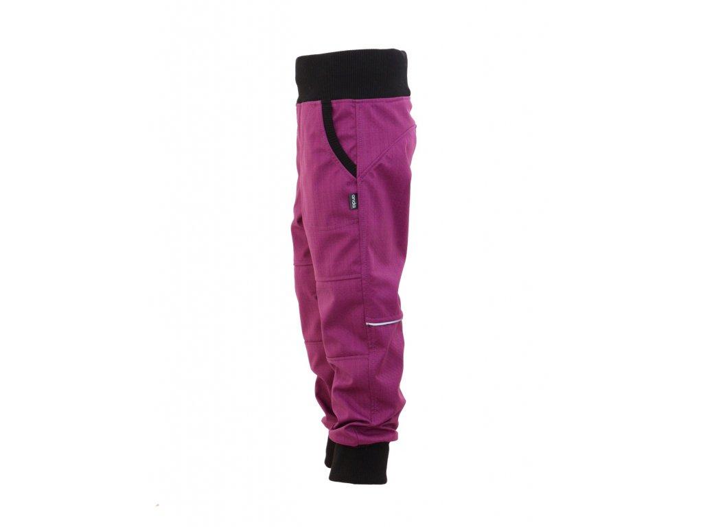 Dětské softschellové kalhoty - jarní