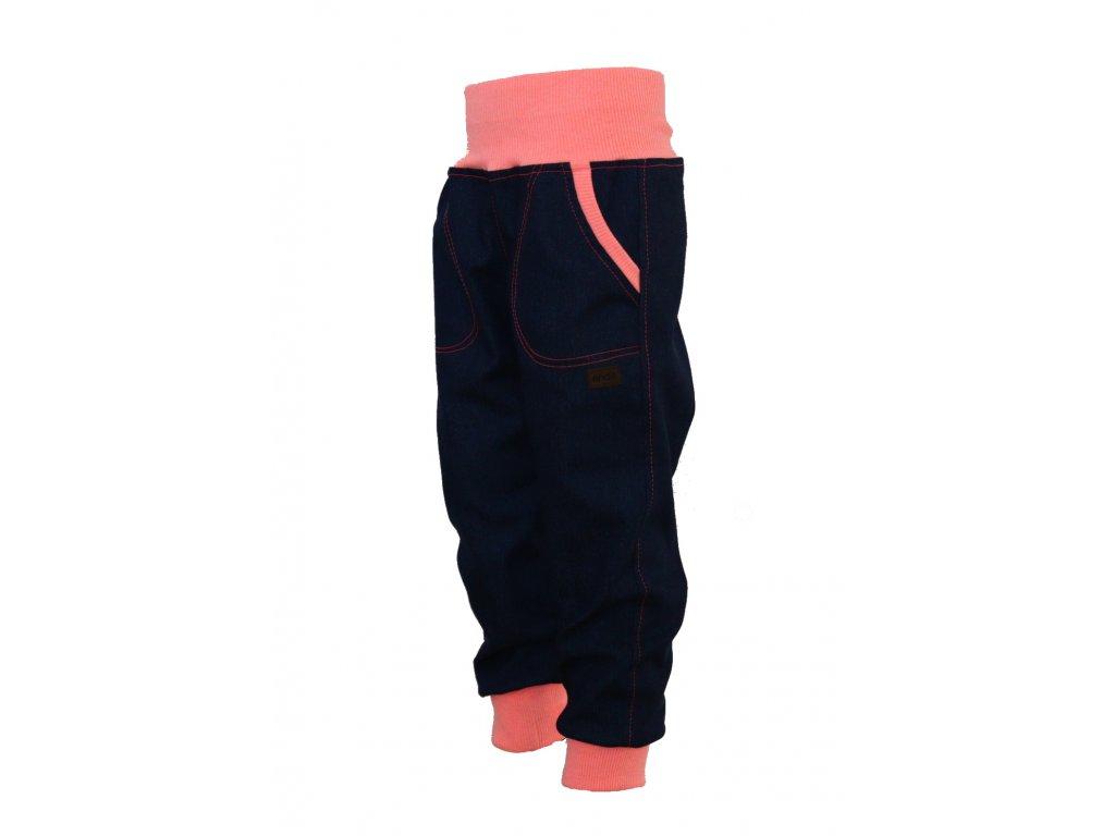 Dětské riflové kalhoty dívčí - podzim, jaro